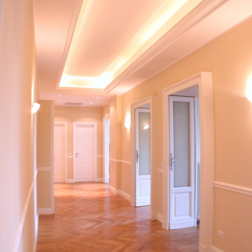 Ristrutturazione casa d 39 epoca a milano via petrarca for Progetti per ristrutturare casa